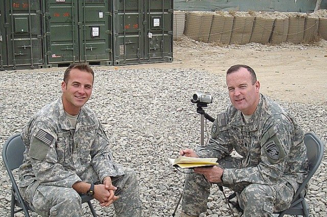 West Point's Kilner gathers more info in Afghanistan for CALDOL Web sites