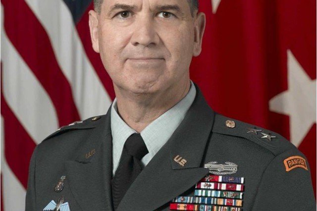 Maj. Gen. David N. Blackledge, Commanding General, U.S. Army Civil Affairs & Psychological Operations Command (Airborne)