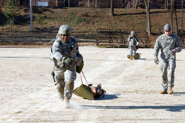 Joint Security Area Soldiers sharpen combat shooting skills
