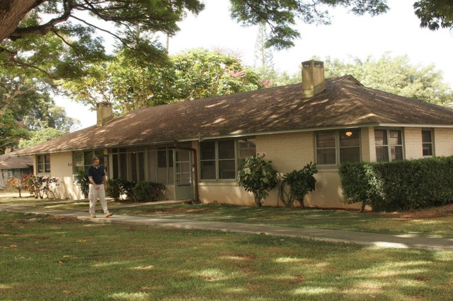 SCHOFIELD BARRACKS, Hawaii -- Renovations of more than 2,500 homes, including historic homes like the Canby house pictured above, here, feature modern amenities such as new kitchen appliances and air conditioning, yet still preserve the character of the home.