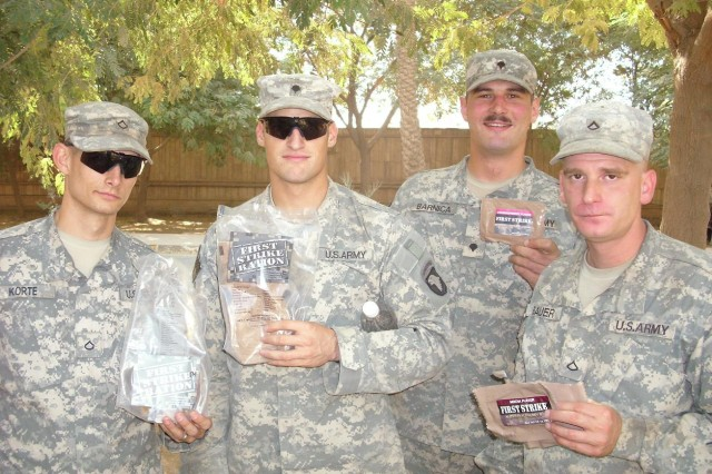 Warfighters on the move need meals on the go