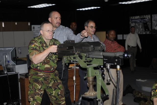 Senior British logisticians visit 7th Sustainment Brigade