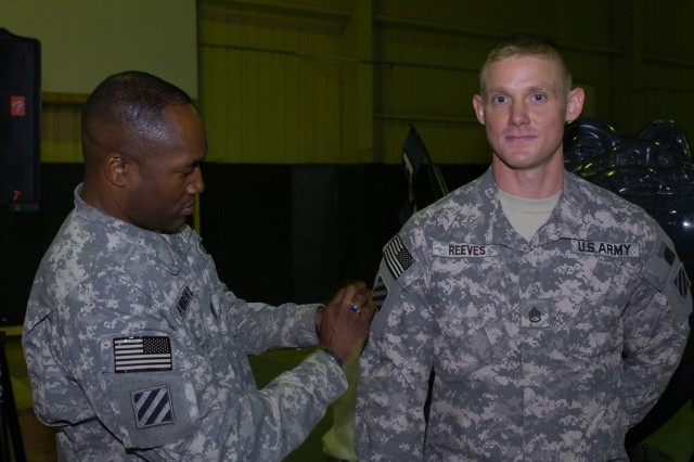 Marne Patch Ceremony