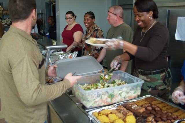 Sustainers volunteer at Wayside Christian Mission
