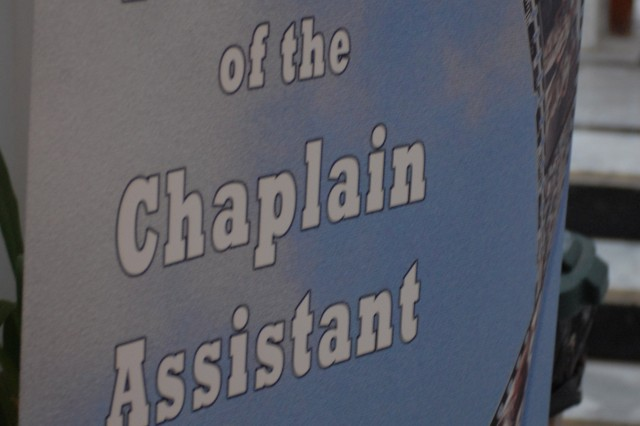 """On Dec. 28, 1909, General Order No. 253, War Department, Washington D.C., established the job of the chaplain assistant. It stated that """"one enlisted man will be detailed on special duty, by the commanding officer of any organization to which a chaplain is assigned to duty, for the purpose of assisting the chaplain in the performance of his official duties."""""""