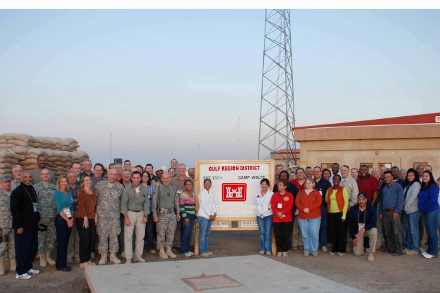 Happy Thanksgiving from the U.S. Army Corps of Engineers in Iraq!