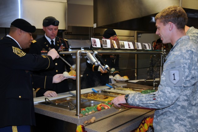 FORT RILEY SOLDIERS CELEBRATE 'THANKSGIVING FEAST OF HISTORY'