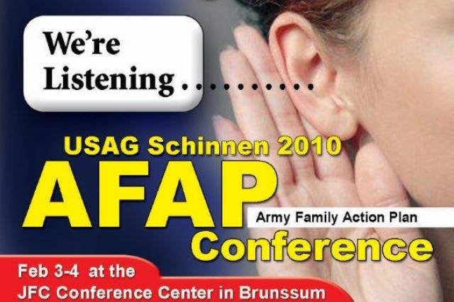 USAG Schinnen hosts Tri-Border AFAP