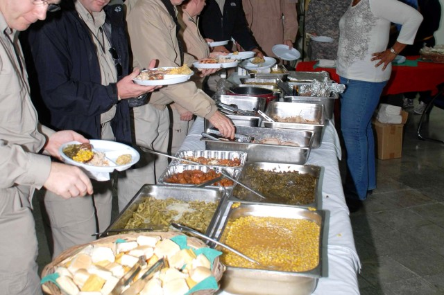 Camp Wolfe Thanksgiving Feast