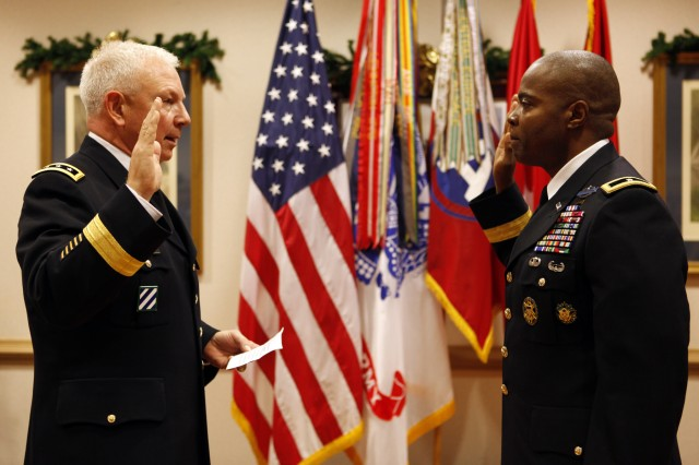 Third Army chief of staff promoted to brigadier general