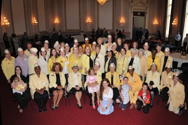 Kimberly Hazelgrove and Gold Star Wives from Fort Belvoir, Va., and around the country attend the 2009 Congressional Reception in Washington, D.C.