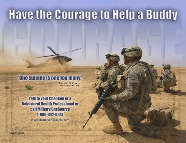 Army Suicide-Prevention Poster