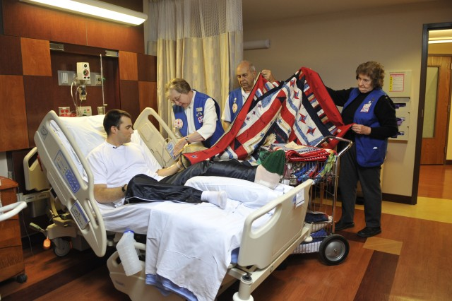 Wounded Warrior Quilts