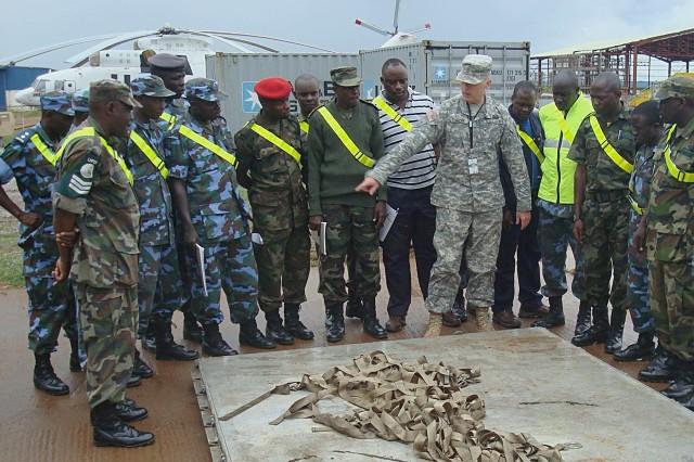 Uganda logistics capabilities enhanced through U.S. Army Africa mentorship