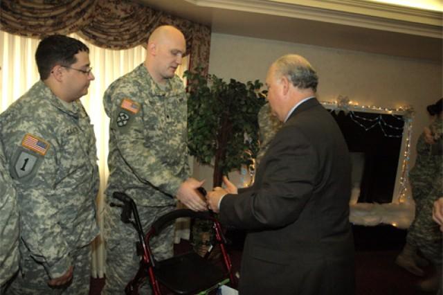 Army undersecretary visits Fort Eustis WTU, hears Soldiers' concerns