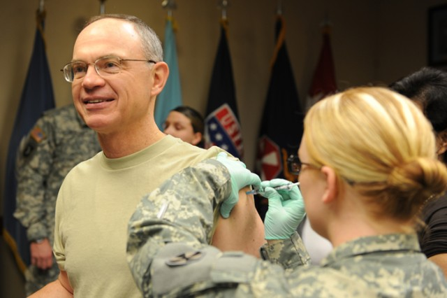 Eighth Army achieves highest vaccination rates in U.S. Army