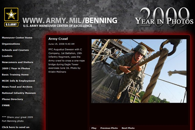 Fort Benning:  Year in Review  Photos