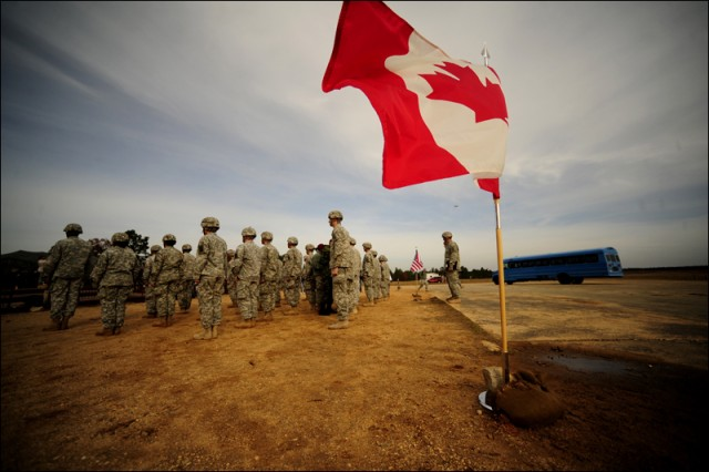 Canadian Wing Ceremony