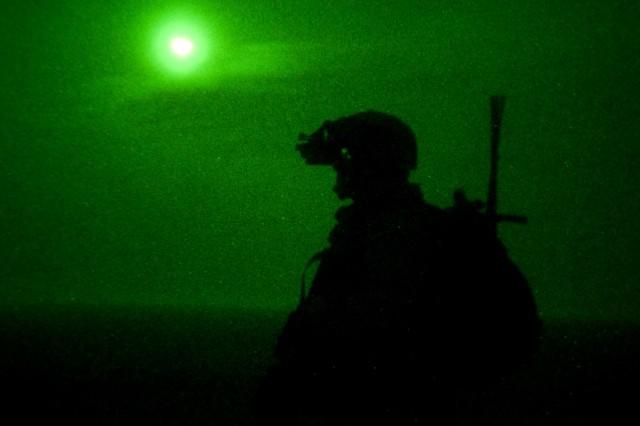 Moonlight border patrol