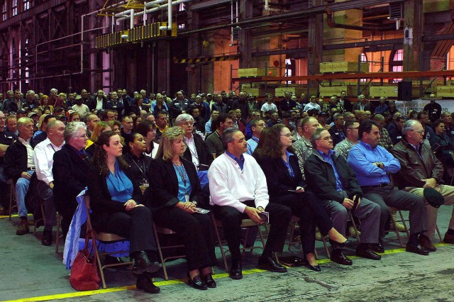 More than 300 Arsenal employees, active duty military, their families, and Veterans attended an Arsenal-hosted Community Covenant Ceremony on Dec. 10, 2009.""