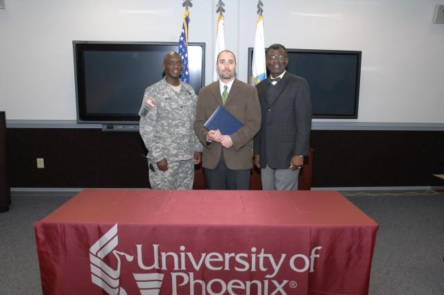 University of Phoenix partners with AMSC