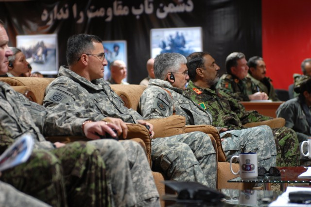 Chief of Staff Makes Holiday Visits in Afghanistan