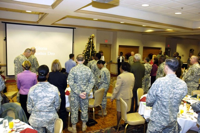 Holiday prayer breakfast reminds of season's spirituality