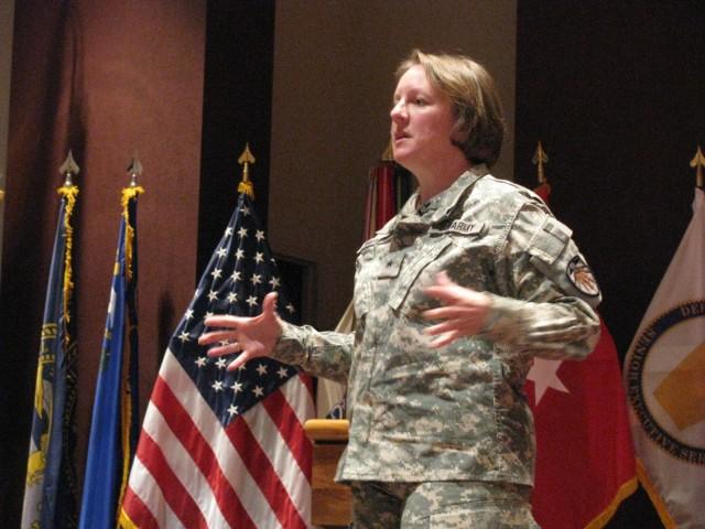 Brigadier General Jennifer Napper