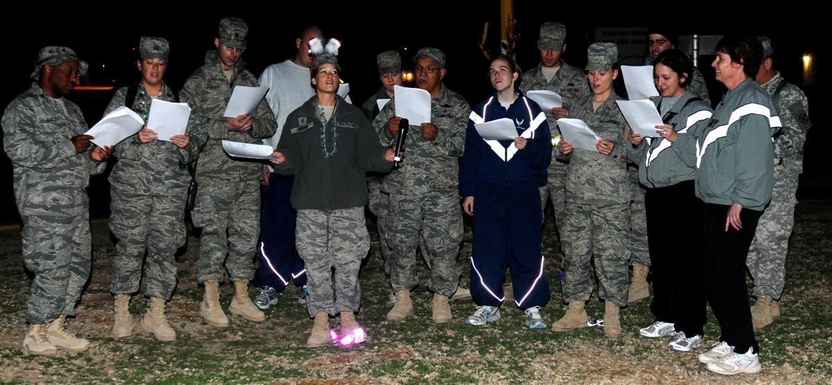 ... ORIGINAL ... - Combat Carolers Bring Holiday Cheer To JBB Article The United