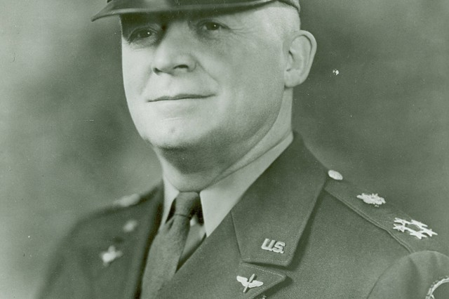 "General of the Army Henry Harley Arnold (1886-1950). Promoted to ""Five-Star"" rank December 21, 1944  (Redeignated ""General of the Air Force, May 7. 1949). Commanding general of the Army Air Forces  (U. S.  Army Signal Corps Photograph"