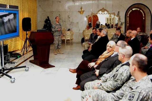 U.S. and Iraqi Dentist Share Knowledge