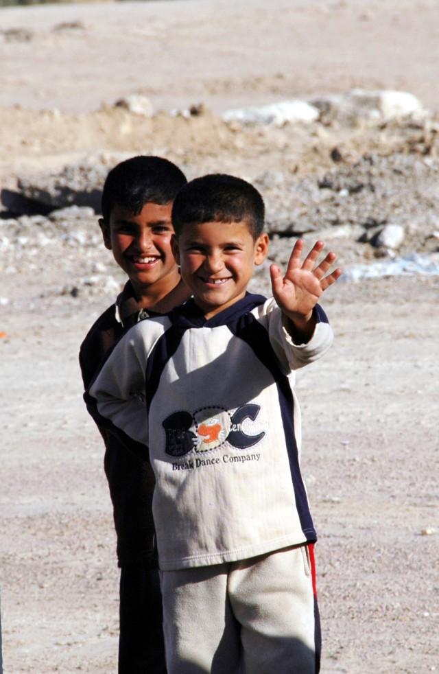 Al-Mazraa school students
