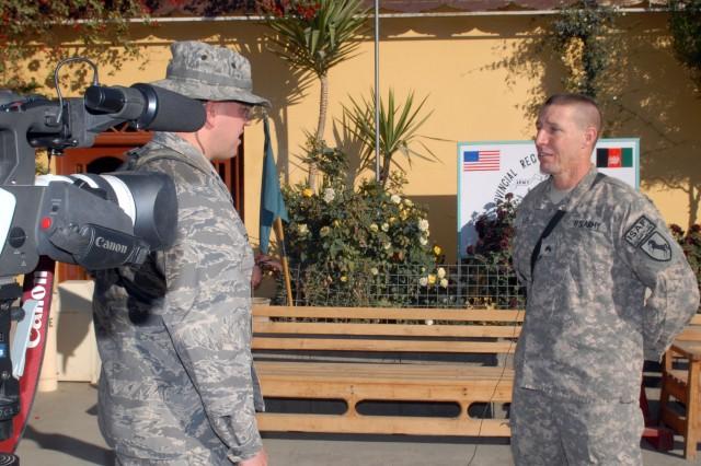 Nevada Guardsman Receives Battlefield Promotion
