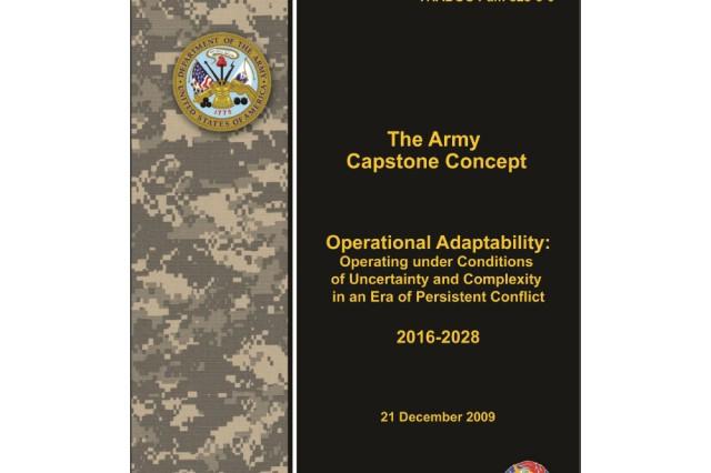 2009 Army Capstone Concept