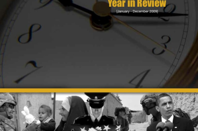Since the content for the January issue (Year in Review) of Soldiers magazine is not the standard article/photograph format, it is only available as a .pdf. To download it, click on the icon with this cover image at the bottom of the page.
