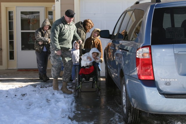 Fort Carson Family gets holiday wish