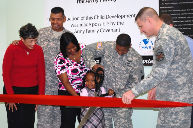 Fort Riley cuts ribbon on sixth Child Development Center