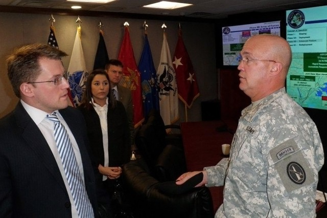 Congressional staffer visit