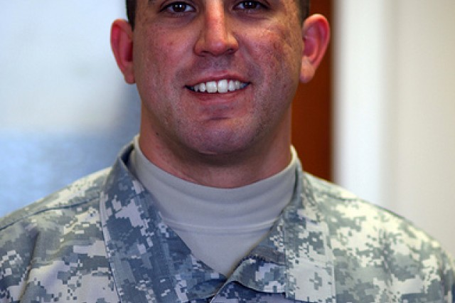 Fort Sill NCO of the Year, Staff Sgt. Jason Fillmore
