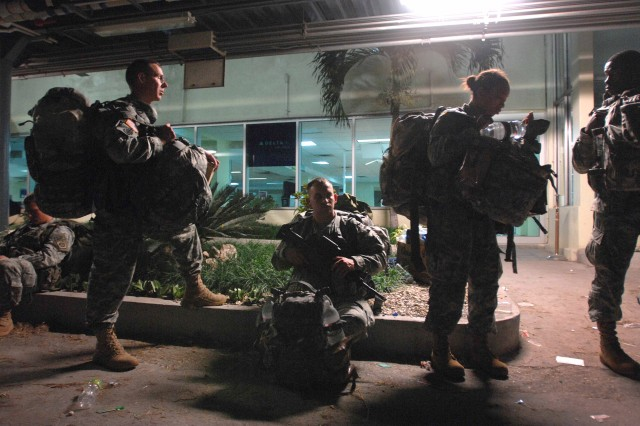 Airborne troops provide first glimpse of relief in Haiti