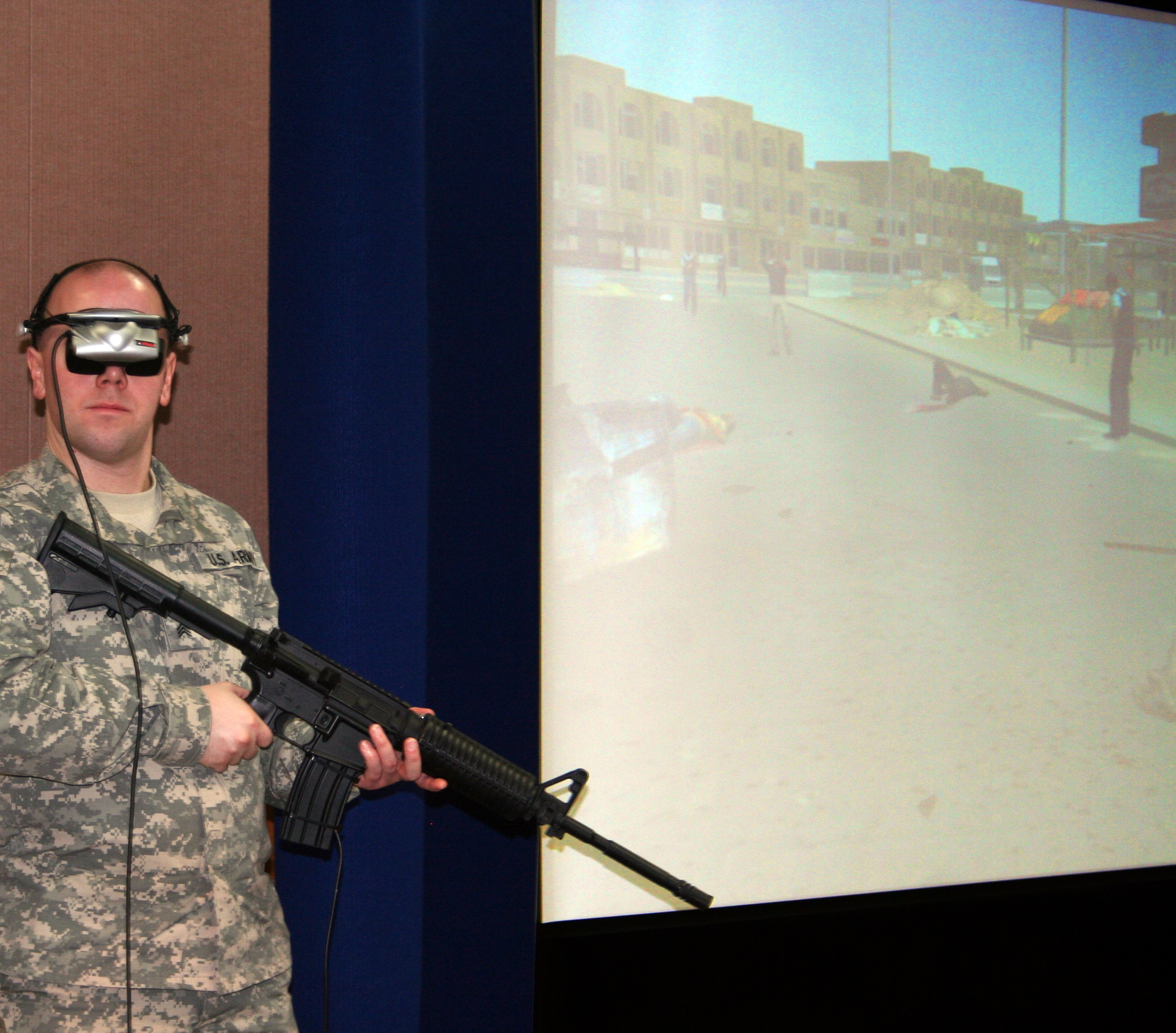 Virtual Reality Exposure Therapy to combat PTSD | Article | The ...