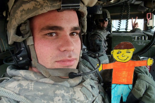 Penpal army soldier
