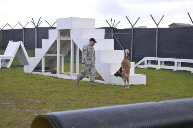 U.S. Army K9 team ends yearlong duty in Kosovo