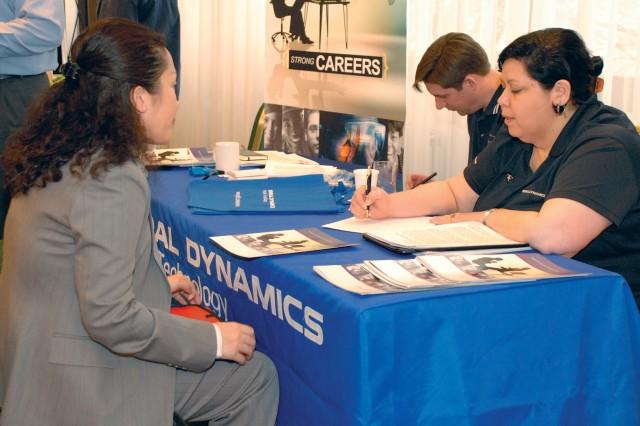Job fair helps injured Soldiers