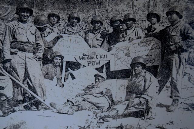Kagnew veterans share memories of Korean War.