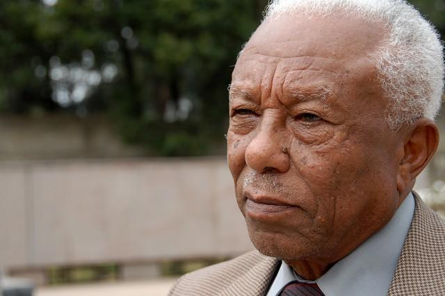 Col. Melesse Tessema, an Ethiopian veteran of the Korean War.