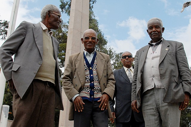Ethiopia - Kagnew veterans share memories of Korean War