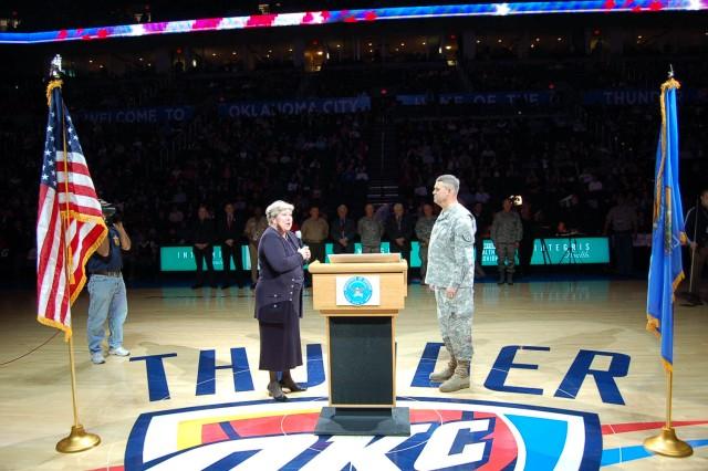 Oklahoma City Thunder Military Appreciation Night