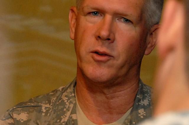 Col. Scott Gordon, Commander of U.S. Army Medical Research Unit, Kenya, discusses malaria vaccine research in western Kenya.
