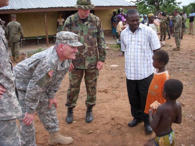 USARAF serving in Africa